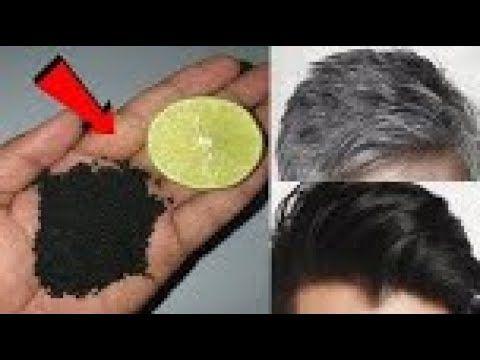 Remèdes maison FORT pour noircir les cheveux blancs pour toujours. white hair t…
