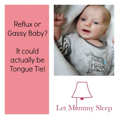 how to help a gassy baby sleep