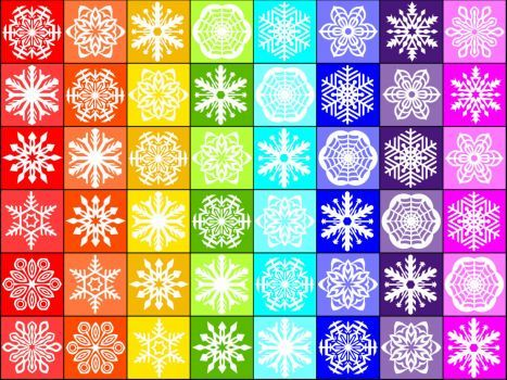 Snowflakes (35 pieces)