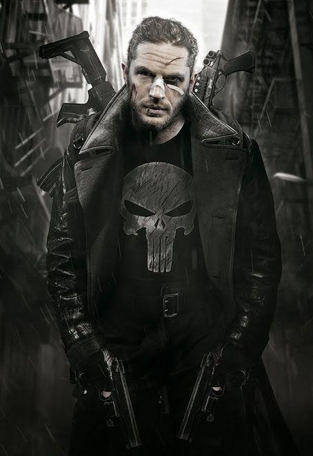 Tom Hardy wants to play Punisher. YEP.