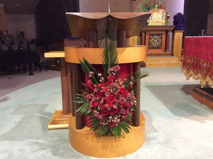Palm Sunday. Epiphany of The Lord Catholic Church. Katy, Texas