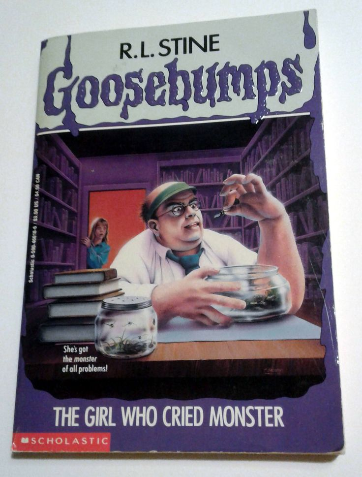 Excited to share the latest addition to my #etsy shop: The Girl Who Cried Monster RL Stine Goosebumps Vintage Book - Horror Novel - Scary Stories - Scholastic First Printing Paperback Used Retro http://etsy.me/2iTiPIP #booksandzines #book #children #goosebumps #rlstine #horror #r