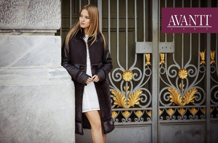 AVANTI FURS - MODEL:P-UTOPIA MINK JACKET with Fox and Leather details, Net textile  #avantifurs #fur #fashion #mink #luxury #musthave #мех #шуба #стиль #норка #зима #красота #мода #topfurexperts