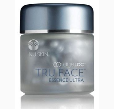 Now you can change the way your skin ages and embrace the look of youth with ageLOC® Tru Face® Essence Ultra. Formulated with the power of Ethocyn,® Nu Skin's firming specialist also employs our revolutionary anti-aging science, targeting the sources of aging that lead to the loss of firmness. Leave undefined skin in the past and enjoy firmer, younger looking skin today and in the future, with ageLOC Tru Face Essence Ultra.  Try it at our office and see the difference!