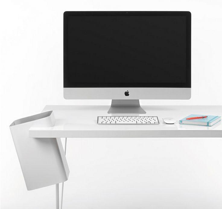 Les 25 meilleures id es concernant poubelle bureau sur - Poubelle de table design ...