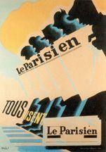 Oficina de publicidad general Fecha: 1946 Titulo: Le Parisien Pais: Francia