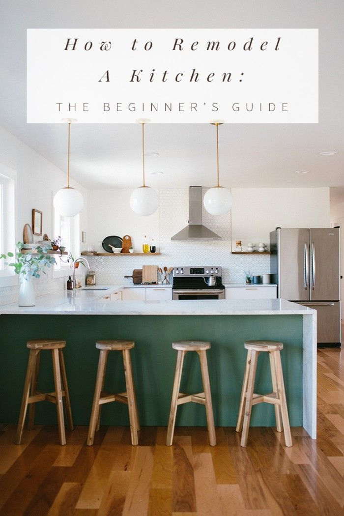 How to Remodel A Kitchen: The Beginners Guide. A step-by-step process to tackle any kitchen remodel, by Anna Smith of Annabode + Co.