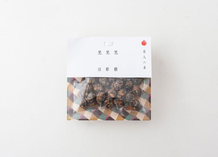 美人の素 黒酢黒糖黒豆 嬉野限定パッケージ - うれしいのプロジェクト ulesino