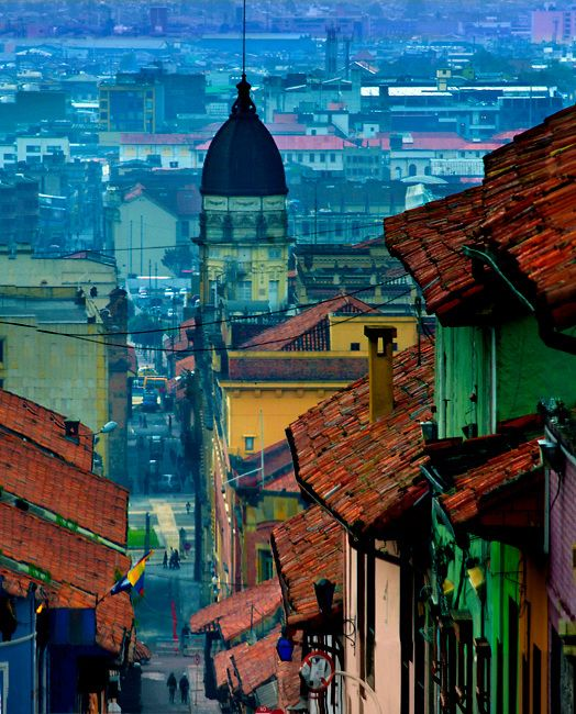Colombia+Arquitec. | Colombia, Bogota, Historic La Candelaria Neighborhood, 17th Century ...