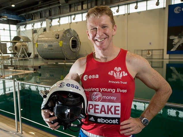 Tim Peake will become the first person to run a marathon in space - Runner's World