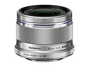 OLYMPUS 単焦点レンズ M.ZUIKO DIGITAL 25mm F1.8 SLV