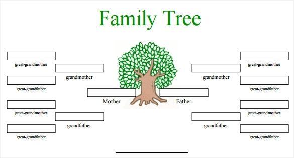 Printable Family Tree Maker Free Family Tree Template Family