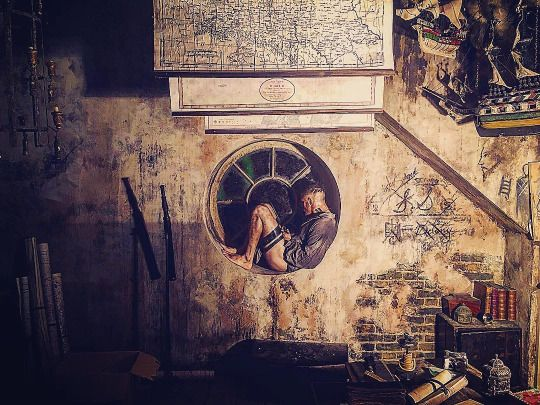 Tom Hardy as James Keziah Delaney in Taboo.