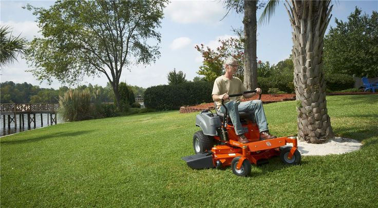 A zero-turn mower lets you cut so close around corners that you reduce the need to trim. Here are a few tips on what to think about when you are looking to buy a new zero-turn trimmer.