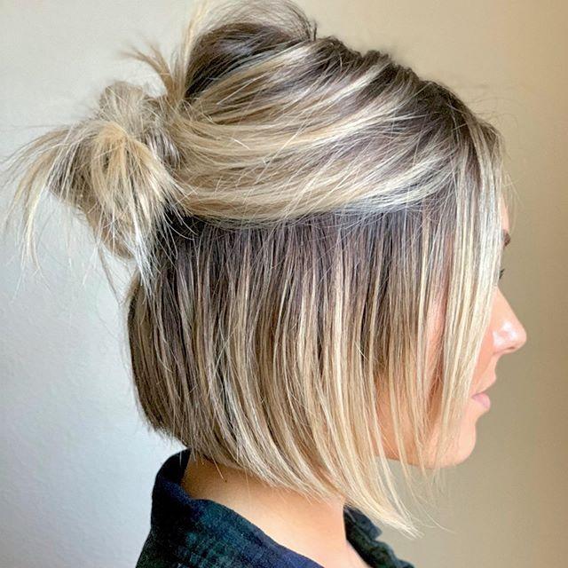 Pinterest In 2020 Mittellange Haare Frisuren Einfach Bob Frisur Kurzhaarfrisuren