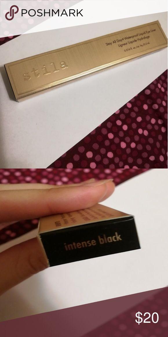 Stila All Day Intense Black waterproof eyeliner Brand New and unopened!!! Stila Makeup Eyeliner