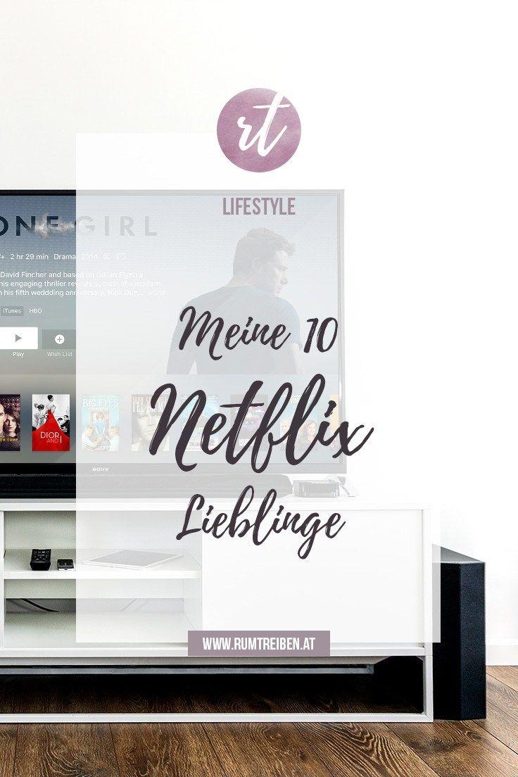 Ich stelle meine 10 Netflix Lieblingsserien vor.
