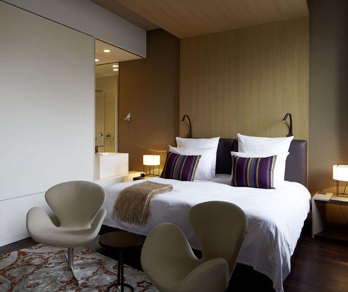 Contemporary Hotel Whit Minimalist Design das stue hotel