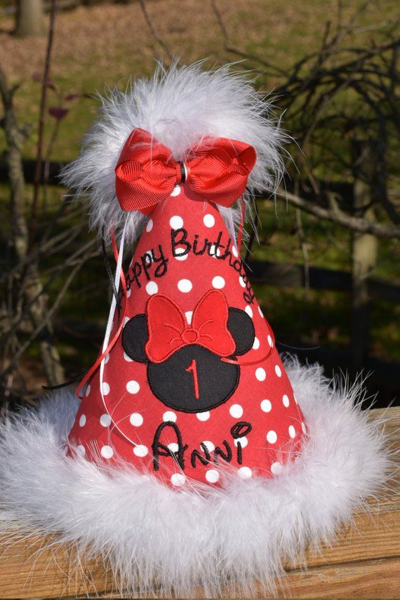3df2804b66ff5 This adorable custom birthday hat will add the finishing touch to your  little sweeties special day