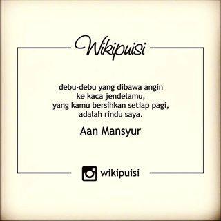 aan mansyur - Penelusuran Google