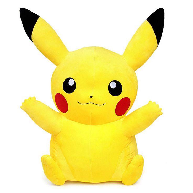 "Authentic Pokemon XY Character Pikachu 100cm 39"" Giant Rag Plush Doll #Pokemon"