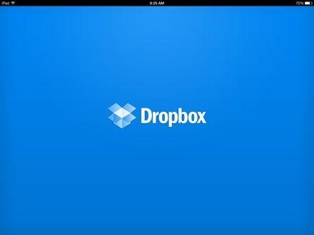 how to change language in dropbox website