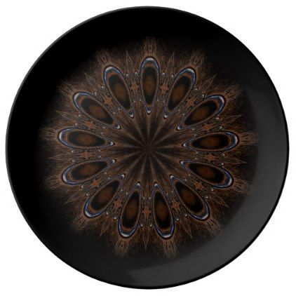 Rustic Boho Dinner Plate - home gifts ideas decor special unique custom individual customized individualized