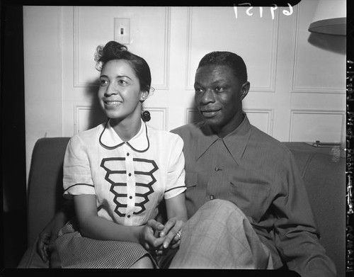 Nat King Cole and Maria Cole