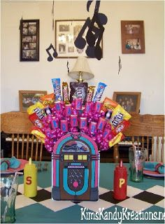 Kims Kandy Kreations: 50s Sock Hop Diner Tablescape · Sock Hop  DecorationsTable ...