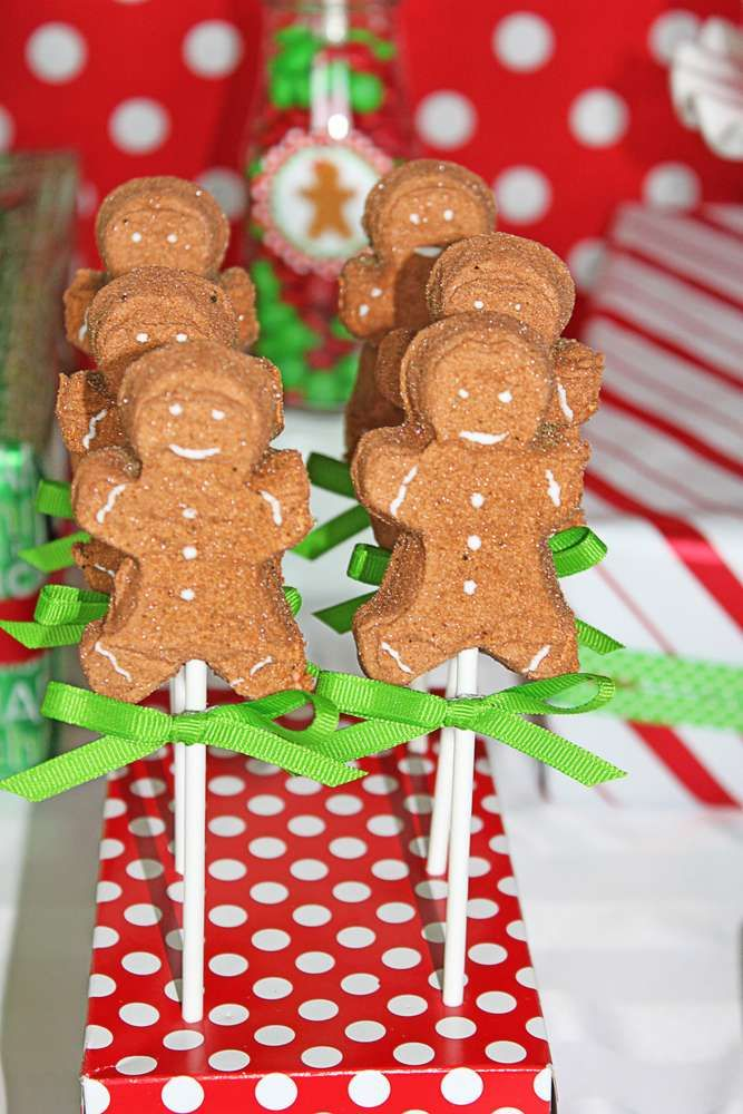 Gingerbread House Party Christmas/Holiday Party Ideas | Photo 19 of 37 | Catch My Party
