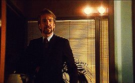 "prettynerdieworks: "" ♛ ALAN RICKMAN as HANS GRUBER in Die Hard (1988) ♛ "" ""I wanted this to be professional, efficient, adult, cooperative. Not a lot to ask. Alas, your Mr. Takagi did not see it that..."