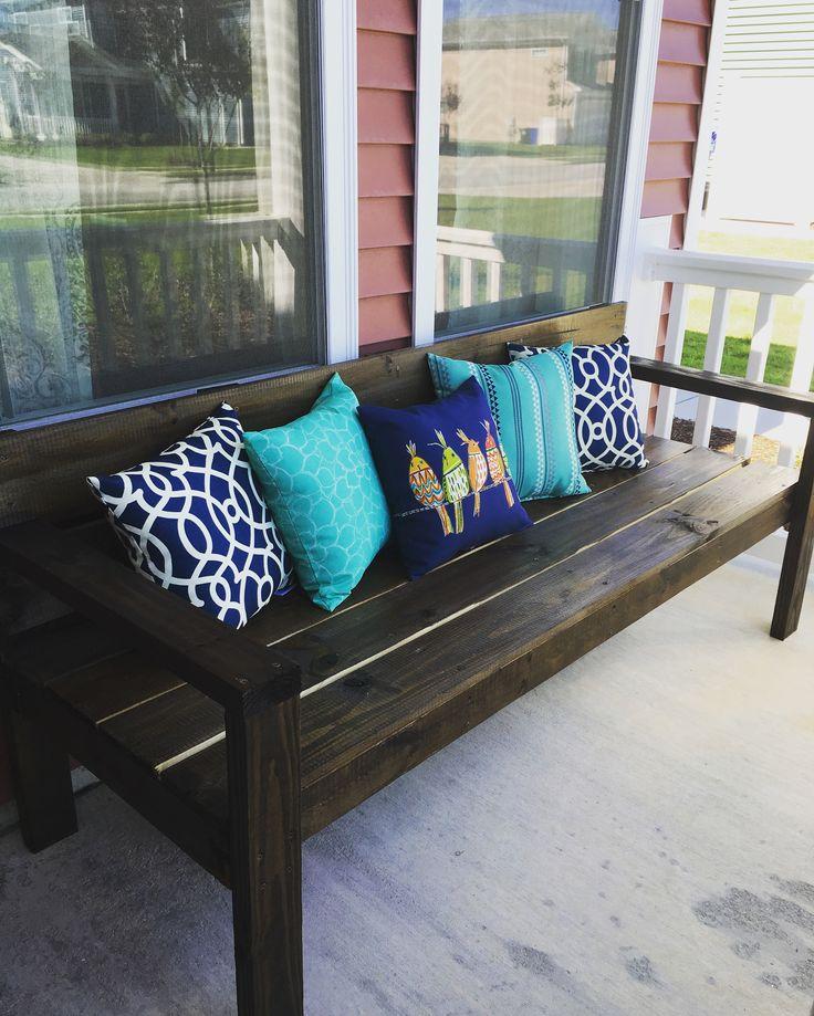 Best 25+ Front porch bench ideas on Pinterest | Porch ...