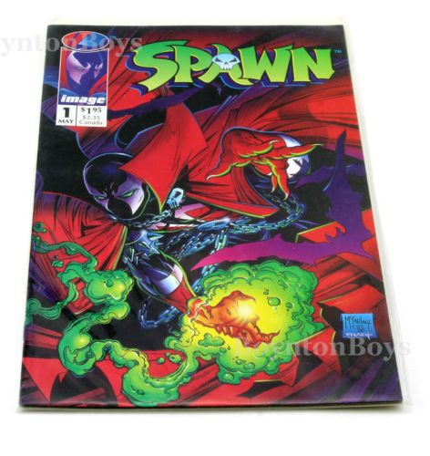 Spawn #1 (Frist Printing) Todd McFarlane 1992 IMAGE COMICS in Collectibles, Comics, Modern Age (1992-Now), Movie & TV | eBay