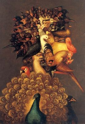 L'Air, par Giuseppe Arcimboldo oil on canvas 1566 ✏✏✏✏✏✏✏✏✏✏✏✏✏✏✏✏  ARTS ET PEINTURES - ARTS AND PAINTINGS  ☞ https://fr.pinterest.com/JeanfbJf/pin-peintres-painters-index/ ══════════════════════  BIJOUX  ☞ https://www.facebook.com/media/set/?set=a.1351591571533839&type=1&l=bb0129771f ✏✏✏✏✏✏✏✏✏✏✏✏✏✏✏✏