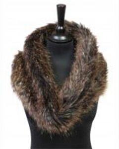 Brown Bear Cowl Neck Scarf - Great winter warmer.  Made in UK > http://www.madecloser.co.uk/clothes-accessories/bags-accessories/bear-cowl-neck-scarf