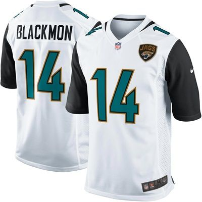 Jacksonville Jaguars Road Game Jersey - Justin Blackmon - Mens: Jacksonville Jaguars Road Game Jersey - Justin Blackmon - Men's  TEAM…