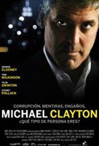 Cartel de la película Michael Clayton