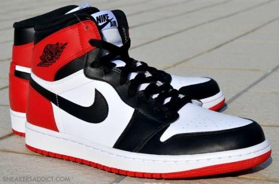 """Nike Air Jordan I """"Black Toe"""""""