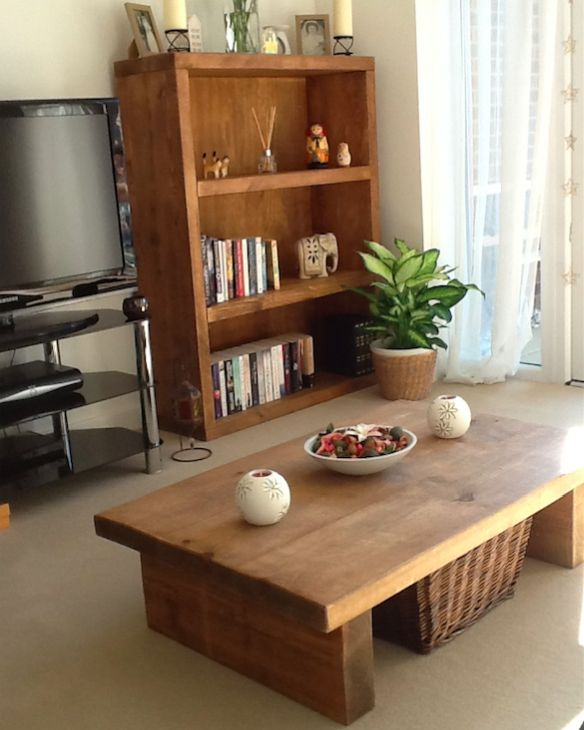 Our most popular 2 Leg Coffee Table finished in a Medium Oak wax finish,  paired - 11 Best Coffee Tables Images On Pinterest
