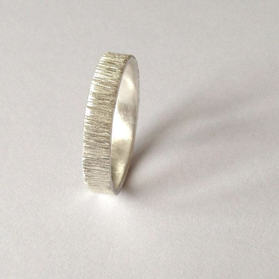 Hey, I found this really awesome Etsy listing at https://www.etsy.com/listing/204870731/silver-tree-bark-ring-distressed-texture