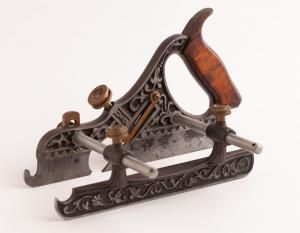 Sweet STANLEY No. 43 MILLER'S PATENT Plow Plane Type 2 with 2-Piece Screws