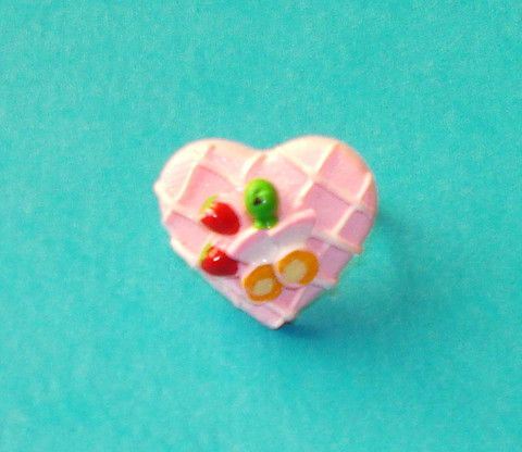 Strawberry Shortcake Ring - Mookie Designs