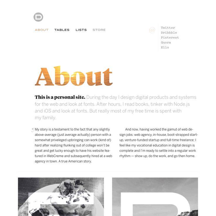 Fonts Used: Tiempos Headline, Benton Sans, Pitch #Typewolf Typography Inspiration