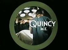 """Quincy, M.E. (also called Quincy) is an American television series from Universal Studios that aired from October 3, 1976, to September 5, 1983, on NBC. It stars Jack Klugman in the title role, a Los Angeles County medical examiner.  Inspired by the book Where Death Delights by Marshall Houts, a former FBI agent, the show also resembled the earlier Canadian television series Wojeck, broadcast by CBC Television..Quincy's character is loosely modelled on Los Angeles' """"Coroner to the Stars""""...."""