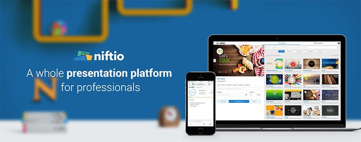 Niftio - a new presentation tool for professionals.   Create and deliver stunning presentations, engage with your audience and track your presentation's performance, all-in-one place.