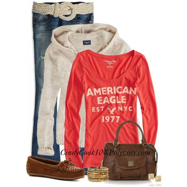 Jeans and hoodie, created by cindycook10 on Polyvore