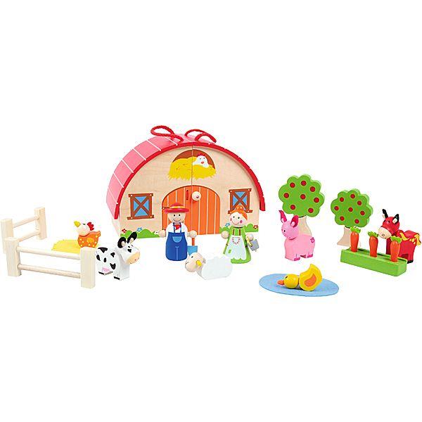 Drewniana farma #creative #wooden #toys #kids  http://www.mojebambino.pl/farmy-i-zwierzatka/1392-drewniana-farma.html?search_query=521114&results=1