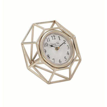 Home Octagon Table Clock Tabletop Clocks