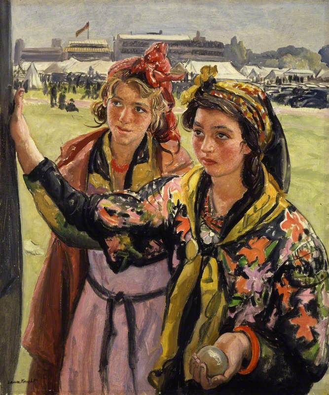 The Athenaeum - Romany Belles (Laura Knight - circa No dates listed)