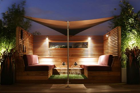 Roof Terrace Design, London City Roof Garden